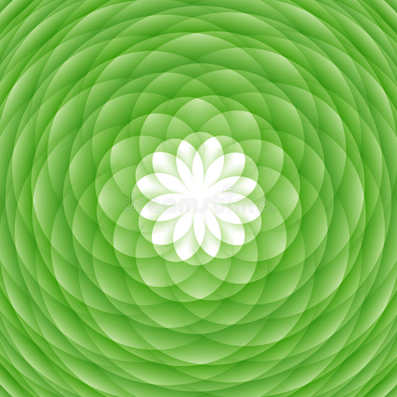 Abstract Green Ornament Royalty Free Stock Photography