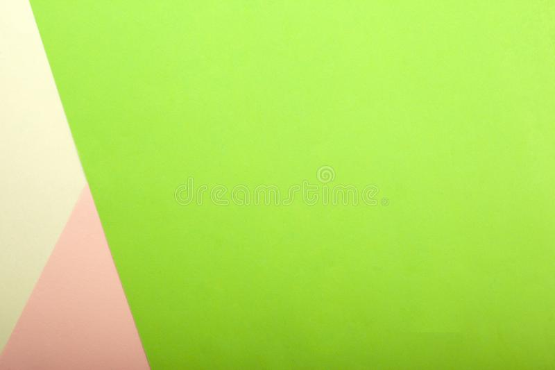 Abstracted green paper is colorful background,Creative design for pastel wallpaper copy space. Abstract green paper is colorful background,Trendy creative design royalty free stock image