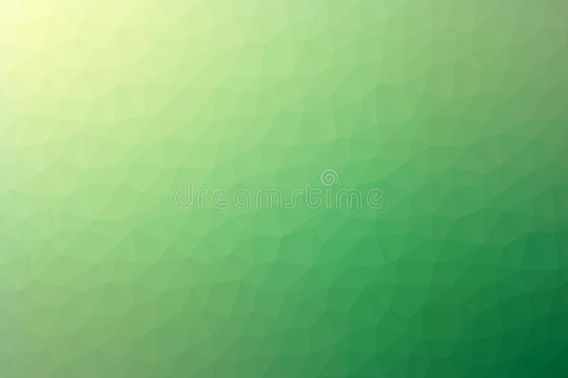Abstract green polygon gradient background vector royalty free stock image
