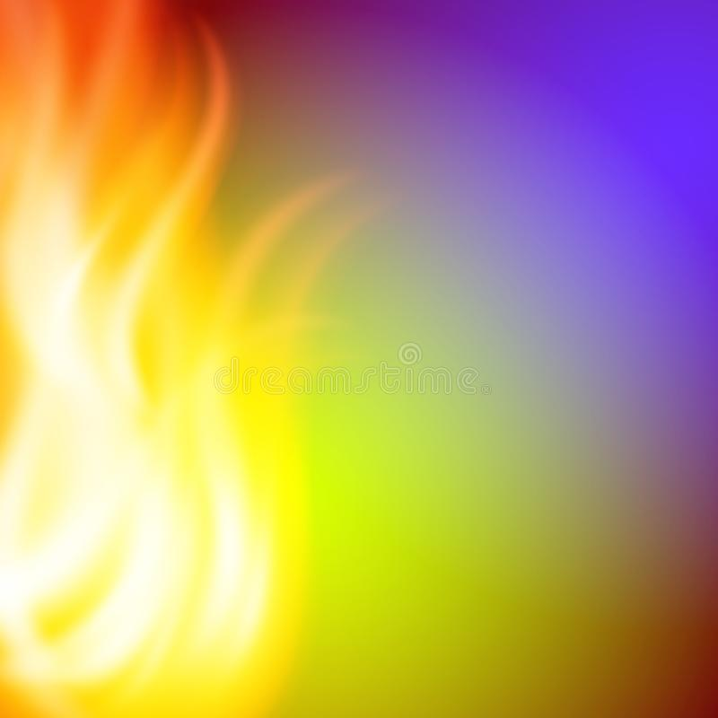 Abstract green purple fire background for your design. EPS10 vector royalty free illustration
