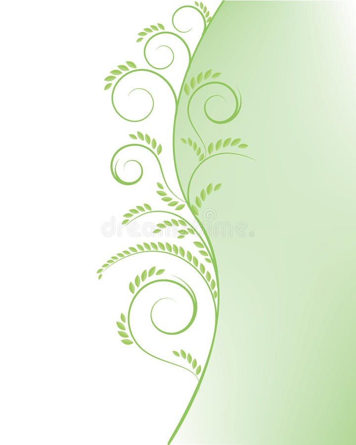 Free Abstract Green Tree Background Royalty Free Stock Photos - 14540198
