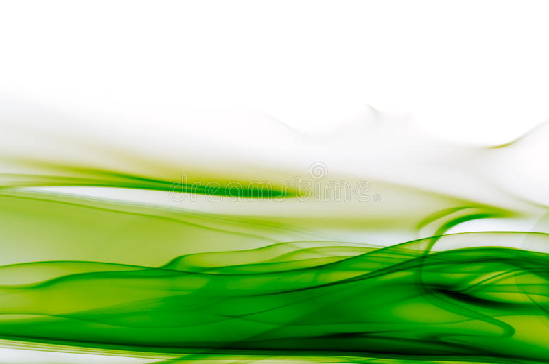 Abstract green and white background stock image