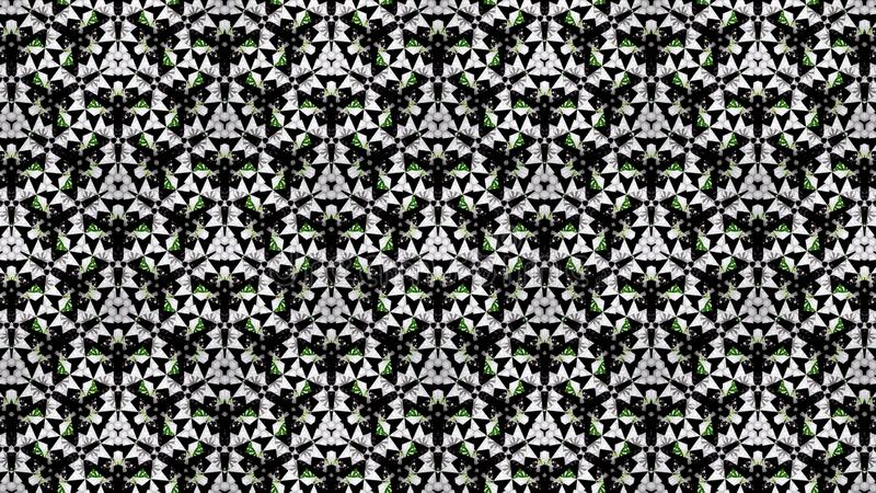 Abstract green white black color wallpaper royalty free stock images