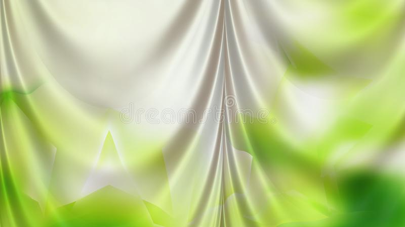 Abstract Green and White Curtain Background Beautiful elegant Illustration graphic art design Background. Image vector illustration