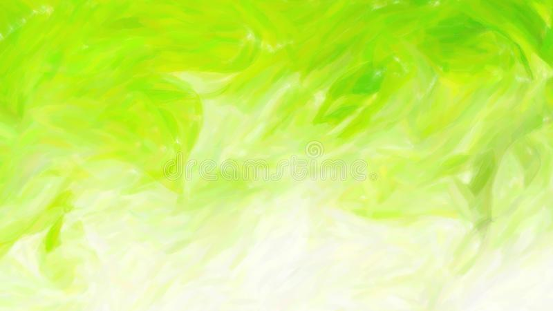 Abstract Green and White Painting Texture Background Beautiful elegant Illustration graphic art design Background. Image vector illustration