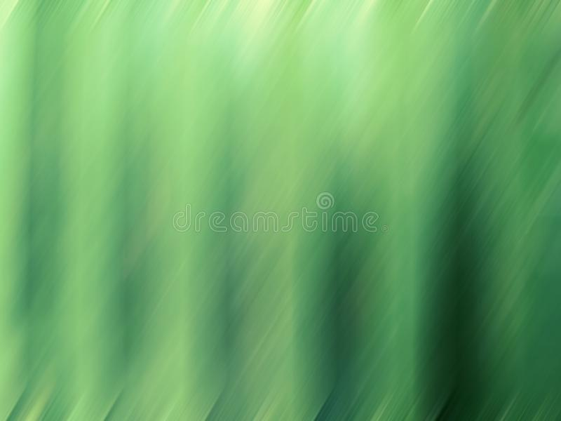 Abstract greenery background. Digital graphic rippled plaited pattern gradient jade green color stock illustration