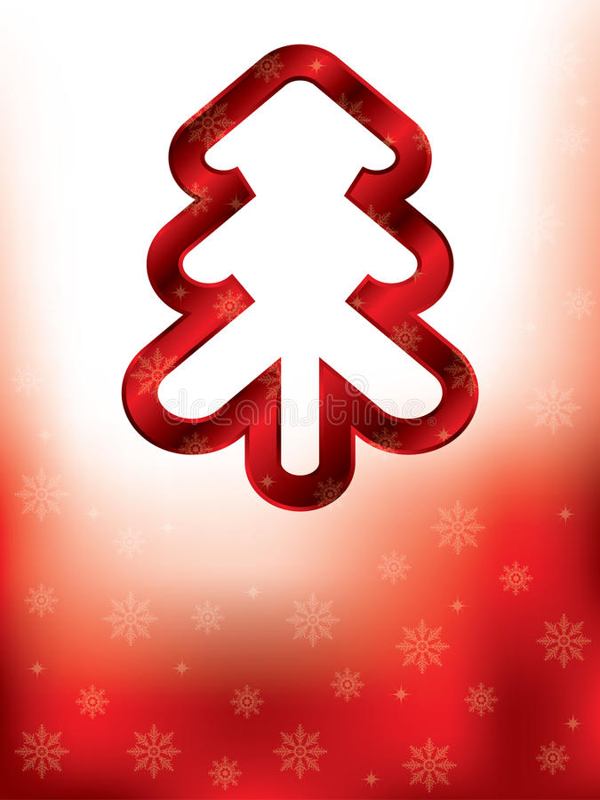 Download Abstract Greeting Card Design For Christmas Stock Vector - Illustration of background, abstract: 27331061