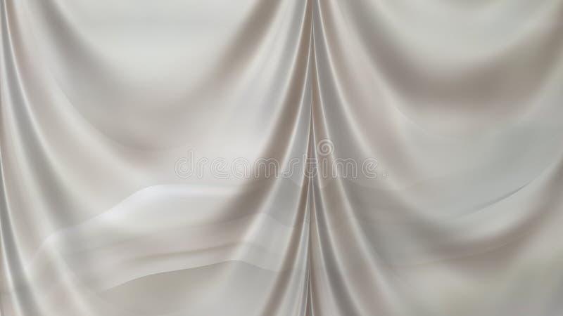 Abstract Grey Curtain Texture Background Beautiful elegant Illustration graphic art design Background. Image royalty free illustration