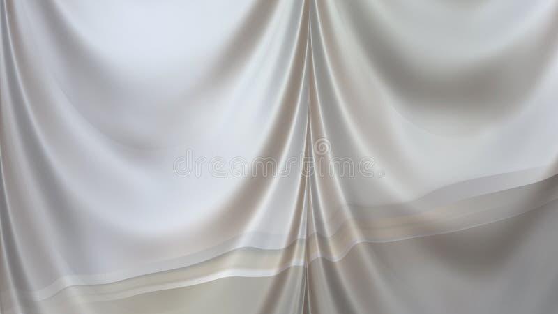 Abstract Grey Curtain Texture Beautiful elegant Illustration graphic art design Background. Image stock illustration