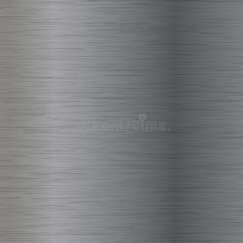Abstract Grey Metal Texture royalty-vrije illustratie