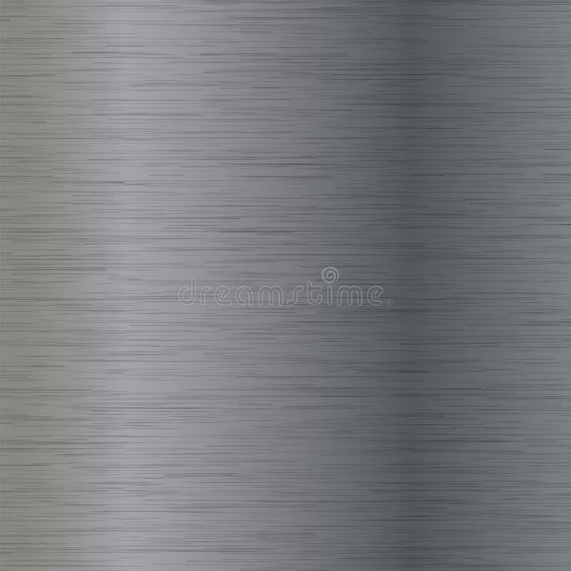 Abstract Grey Metal Texture vector illustratie