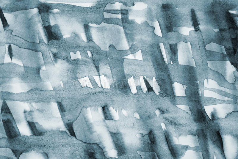 Abstract grey watercolor on paper texture as background stock photos