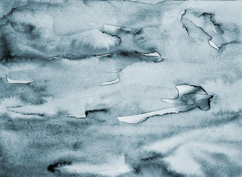 Abstract grey watercolor on paper texture as background royalty free stock photos