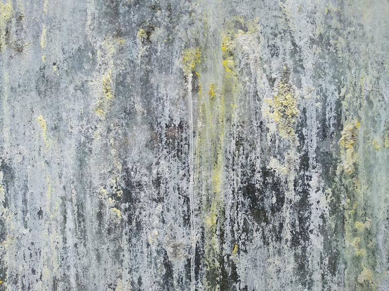 Abstract grijs gekleurde achtergrond grijs gesmeerde druppels verf stock foto's