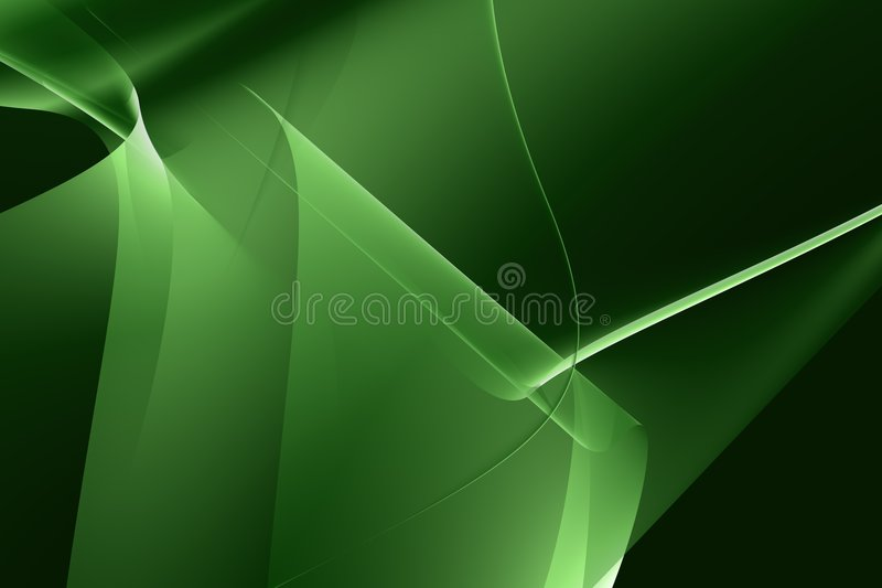 Abstract groen licht royalty-vrije illustratie