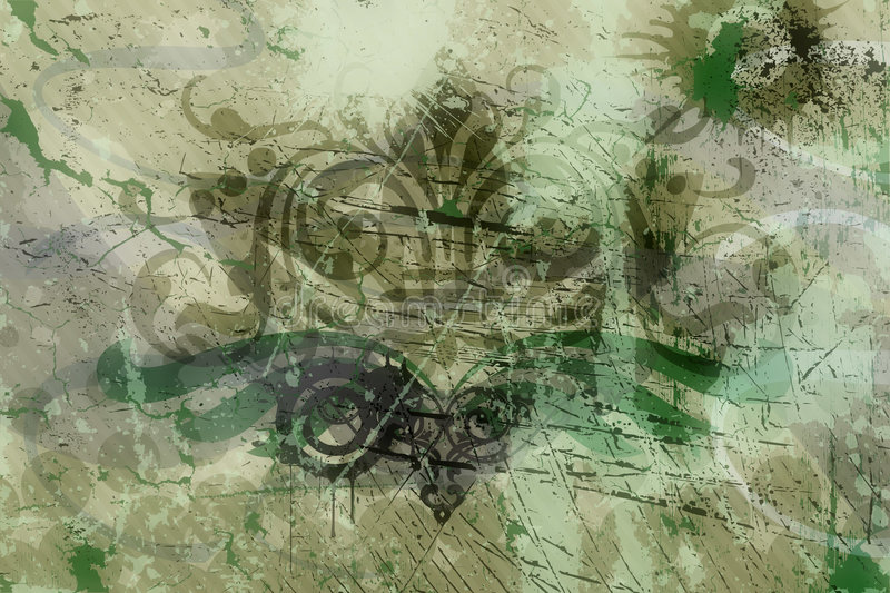 Abstract grunge background stock illustration