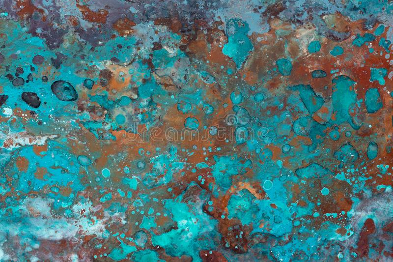 Abstract grunge background with circles and texture. High resolution photo stock images