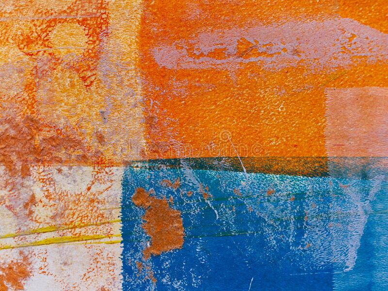 Abstract Grunge Background roughly divided into four sections stock photos