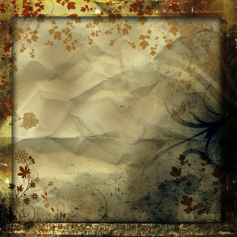 Abstract grunge backgrouns stock illustration