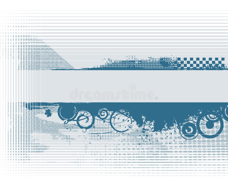 Abstract grunge banner vector illustration