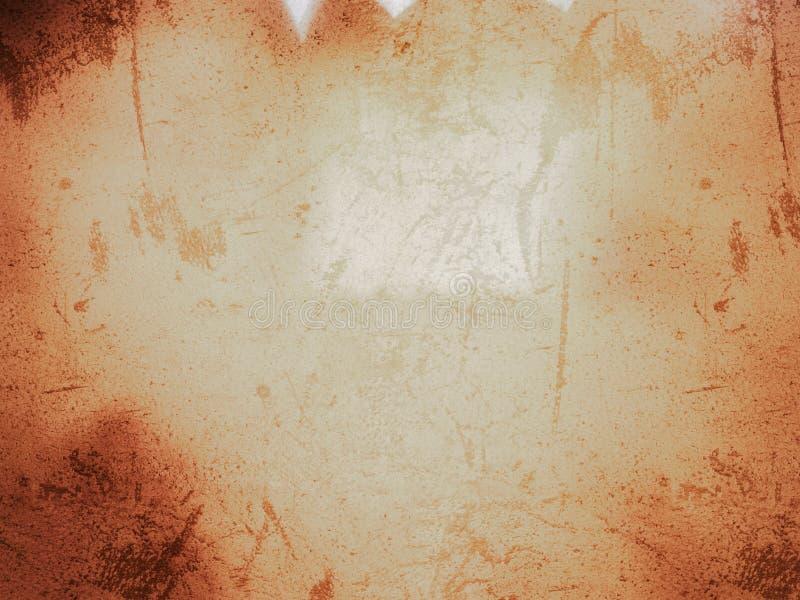 Abstract grunge dark orange color background. Use for background or wallpaper royalty free illustration