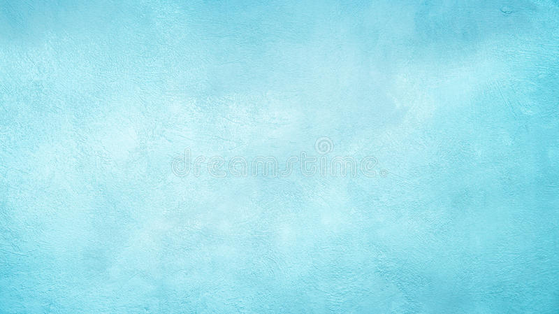 Abstract Grunge Decorative Light Blue Cyan Painted background stock image