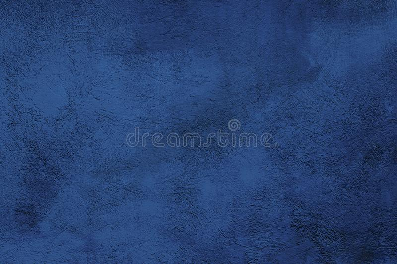 Abstract Grunge Decorative Navy Blue background stock images