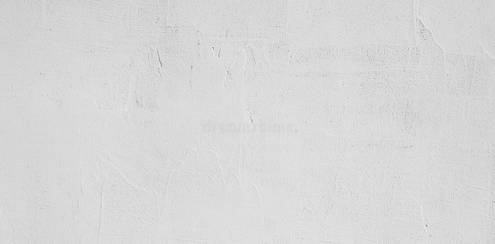 Abstract Grunge Decorative White Stucco Wall Background royalty free stock photography