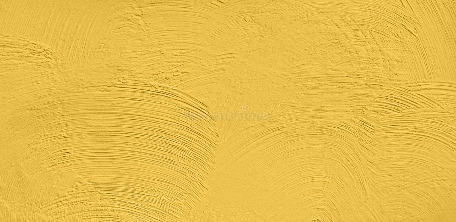 Abstract Grunge Decorative Yellow Stucco Wall Background. Beautiful Abstract Grunge Decorative Yellow Stucco Wall Background. Wide Angle Art Rough Stylized stock images
