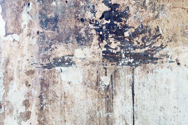 Abstract grunge dirty old vintage retro white wall texture backg stock images