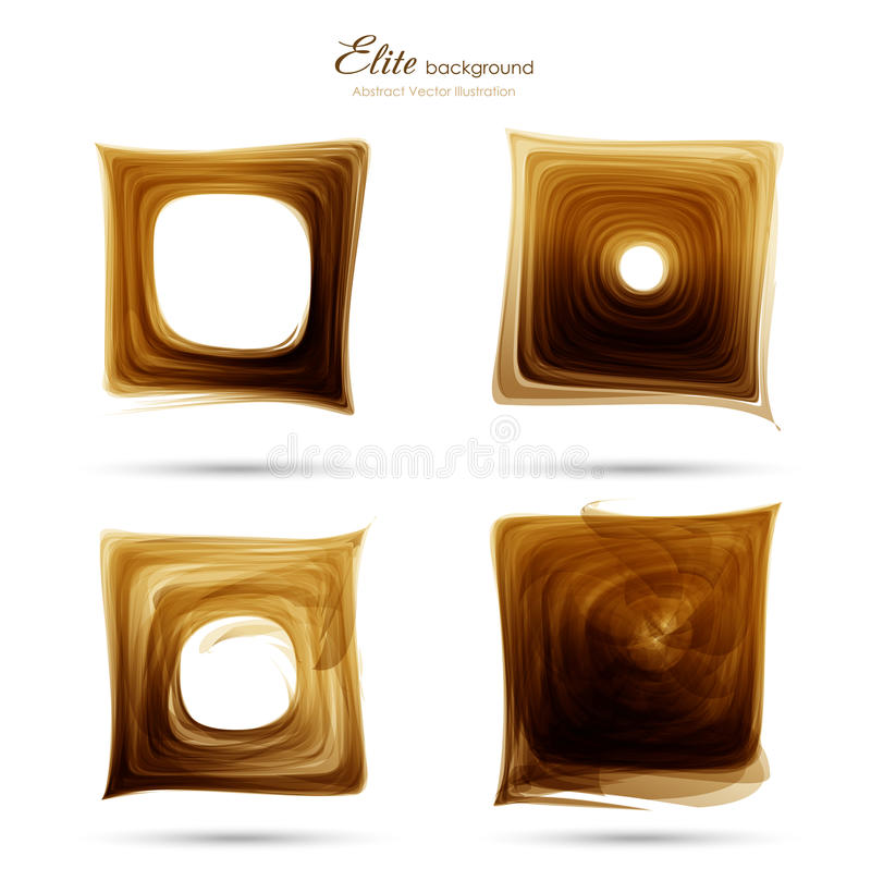 Abstract grunge element background stock illustration