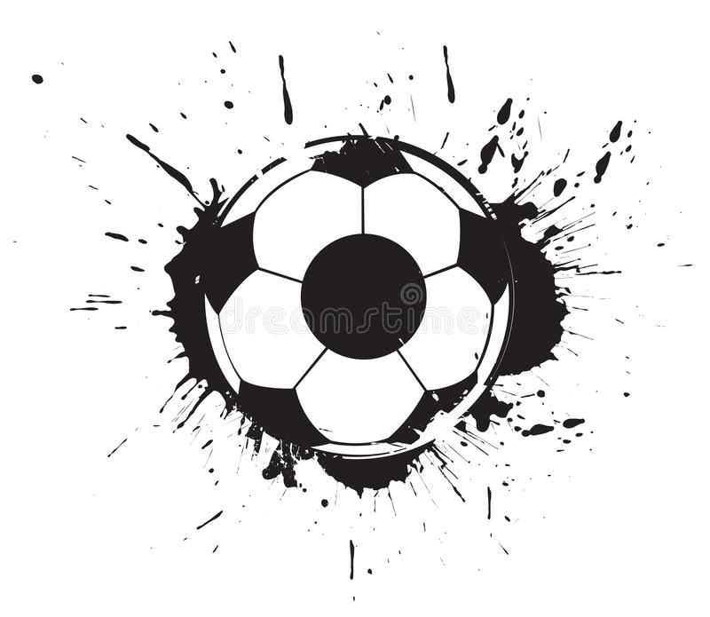 Abstract Grunge Football Royalty Free Stock Images