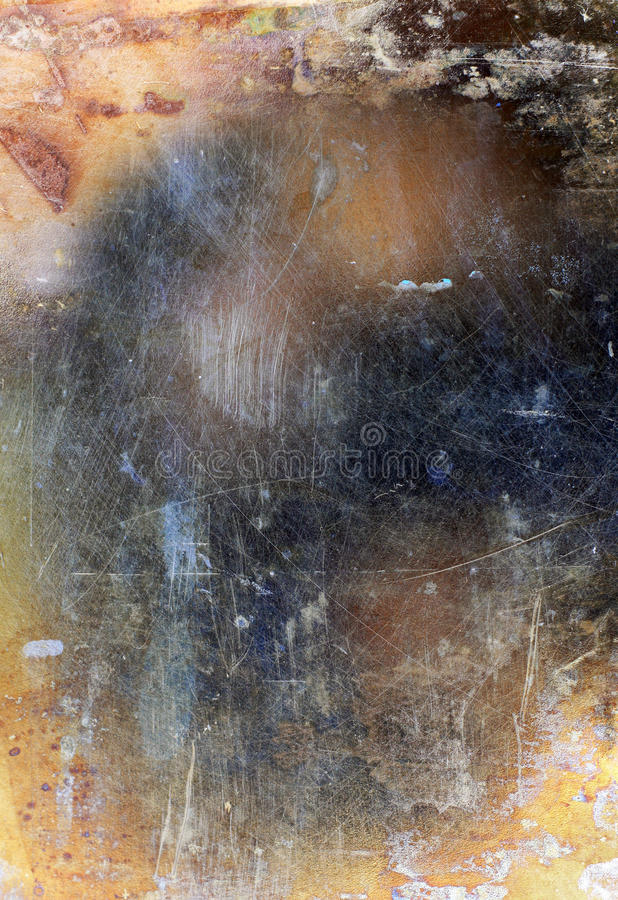 Abstract grunge metal background stock image