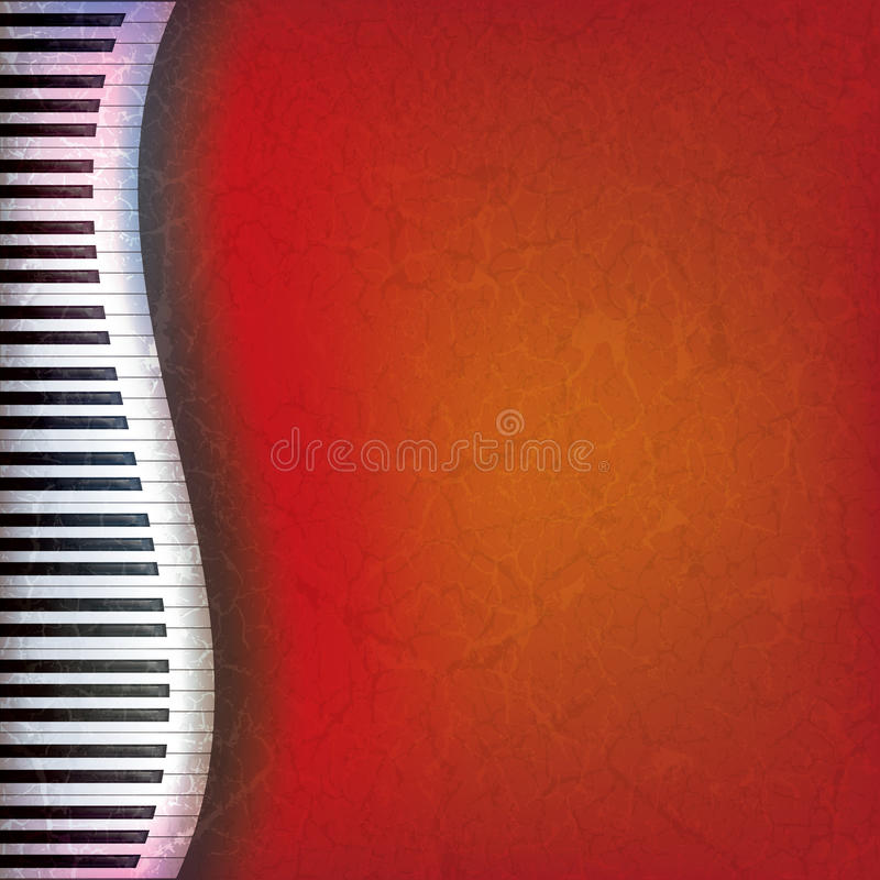 Download Abstract Grunge Music Background Stock Vector - Image: 19667334