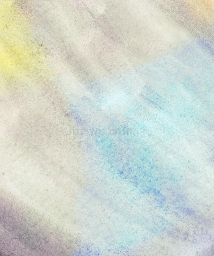 Abstract grunge watercolor background. royalty free illustration