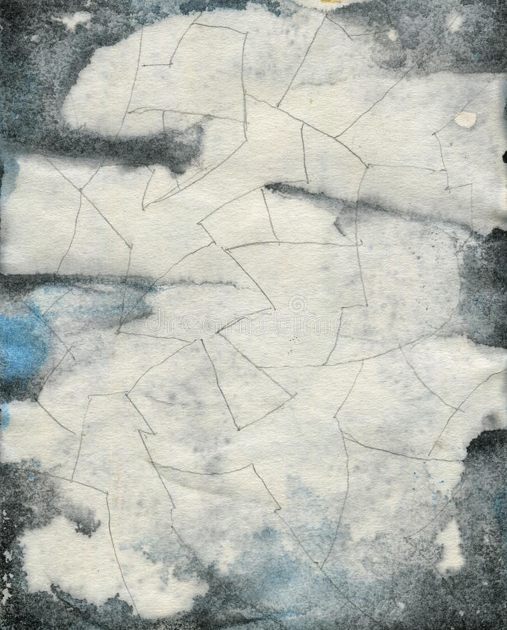 Free Abstract Grunge Watercolor Texture Stock Images - 48084404