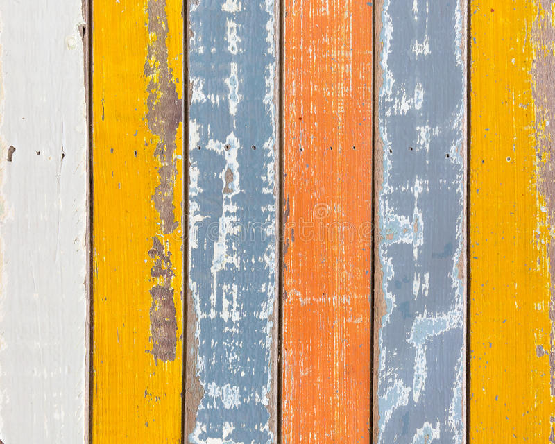 Abstract grunge wooden texture background with old paint colorful. royalty free stock photo