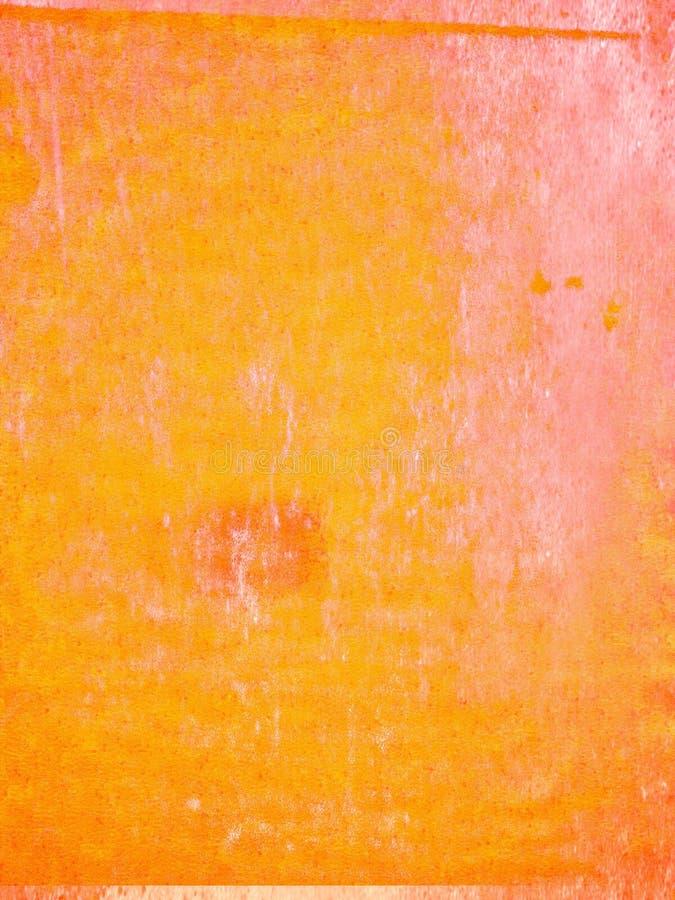 Abstract grunge yellow orange worn background vector illustration