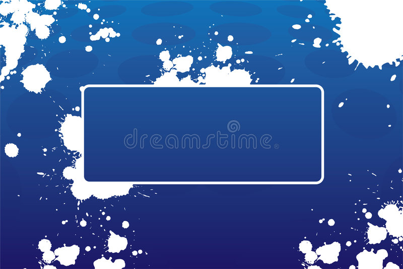 Abstract grungeframe vector illustratie