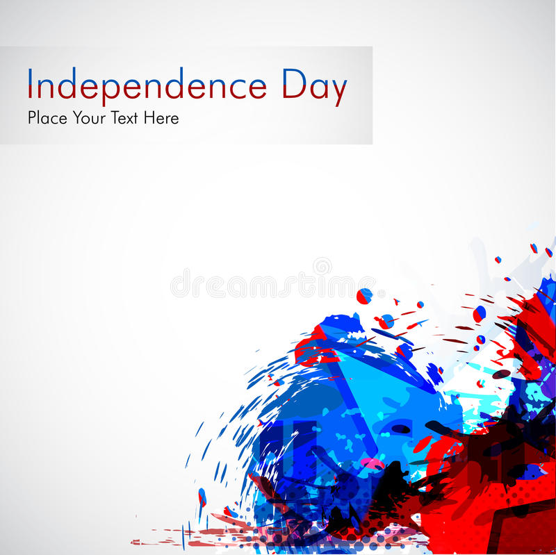 Abstract grungy background for 4 th of July. Vector illustration in es 10 format royalty free illustration