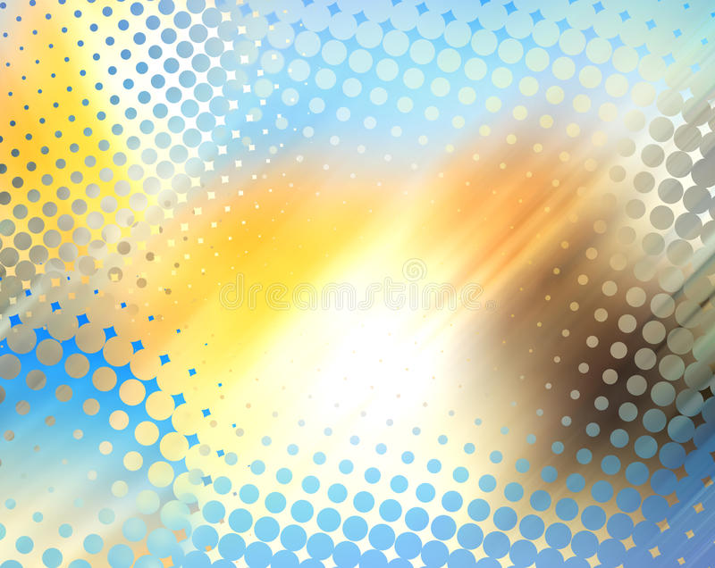 Download Abstract Halftone Background Stock Illustration - Image: 11158897