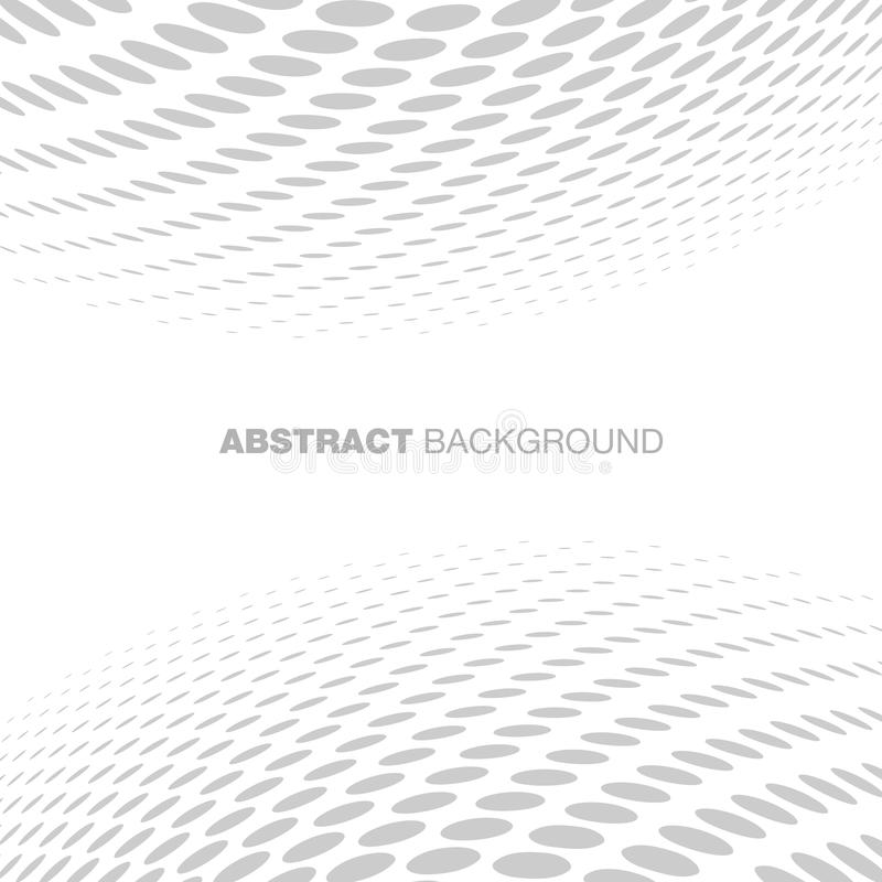 Abstract Halftone Gray Technology Background stock illustration