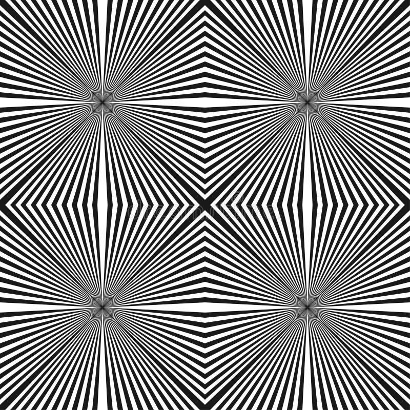 Abstract halftone lijnen geometrisch naadloos patroon royalty-vrije illustratie