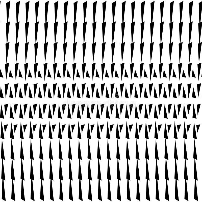 Abstract halftone patroon van driehoeken Vector halftone gestreepte achtergrond voor ontwerpbanners, affiches, bedrijfsprojecten, royalty-vrije illustratie