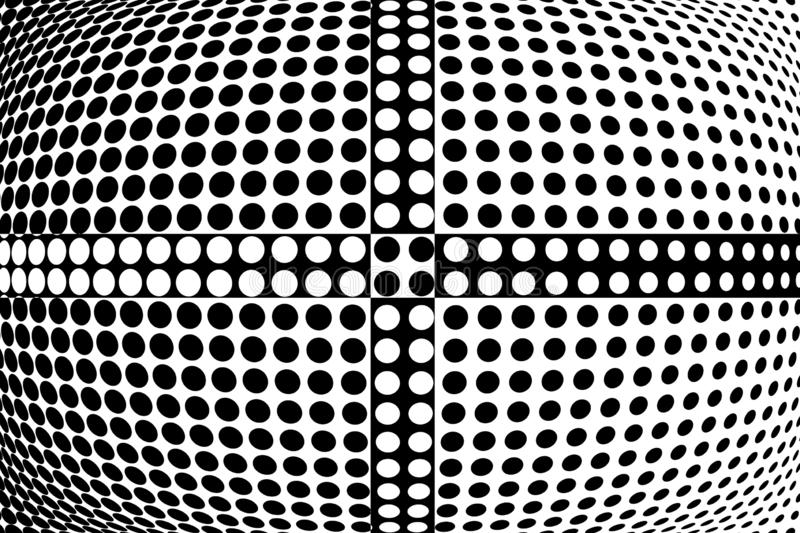 Abstract halftone pattern. Vector halftone dots background for design banners, posters, business projects, pop art texture, covers vector illustration