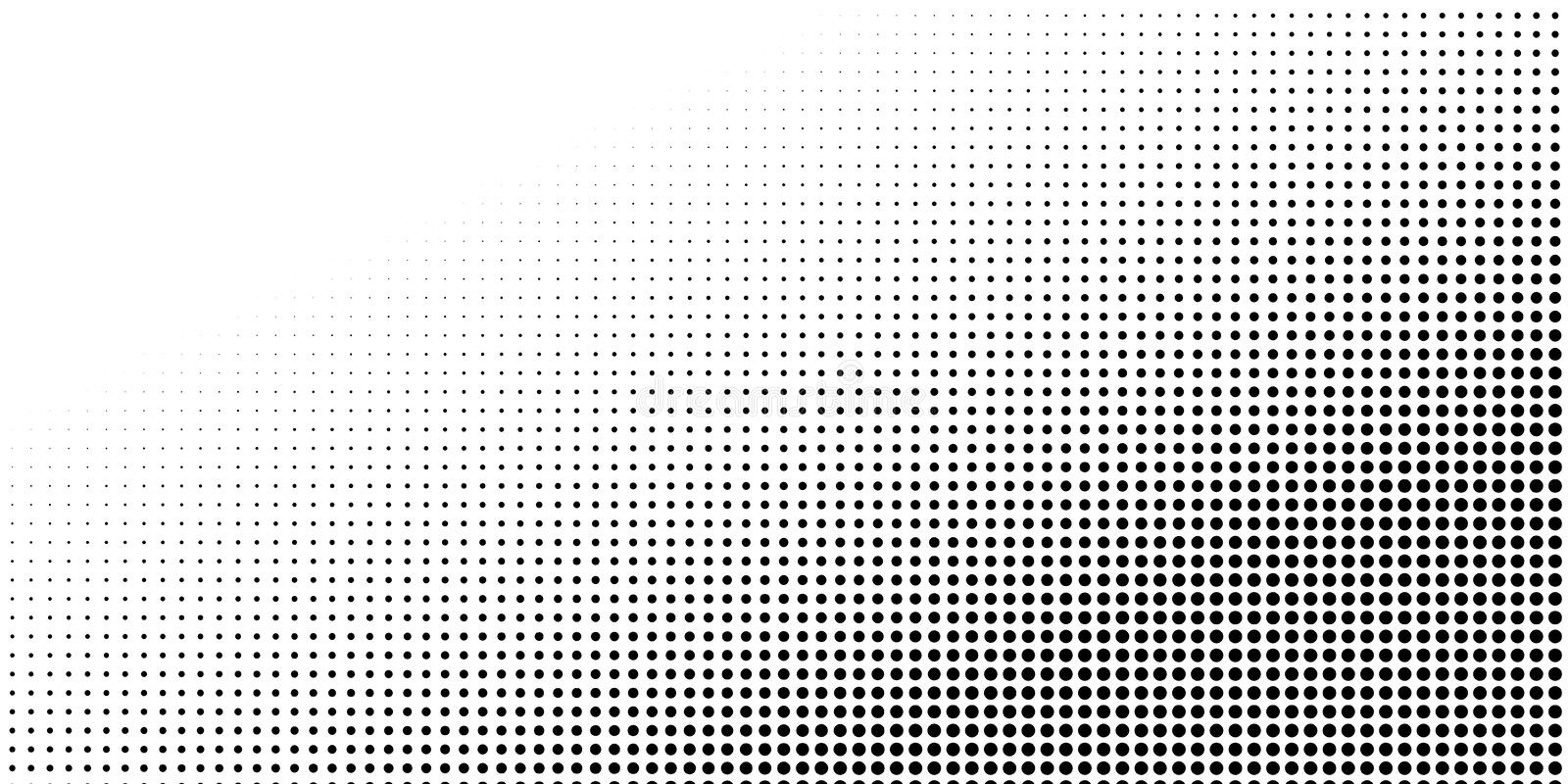 Abstract halftone texture with dots. stock images