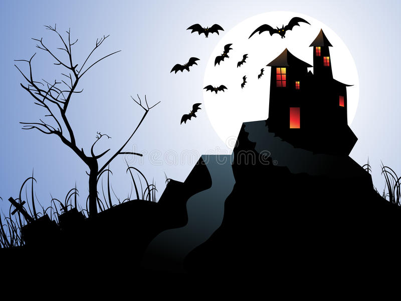 Download Abstract Halloween Background Stock Vector - Image: 26806314