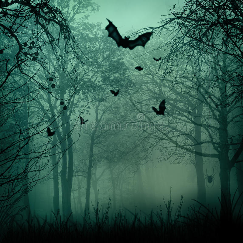 Abstract Halloween backgrounds stock illustration