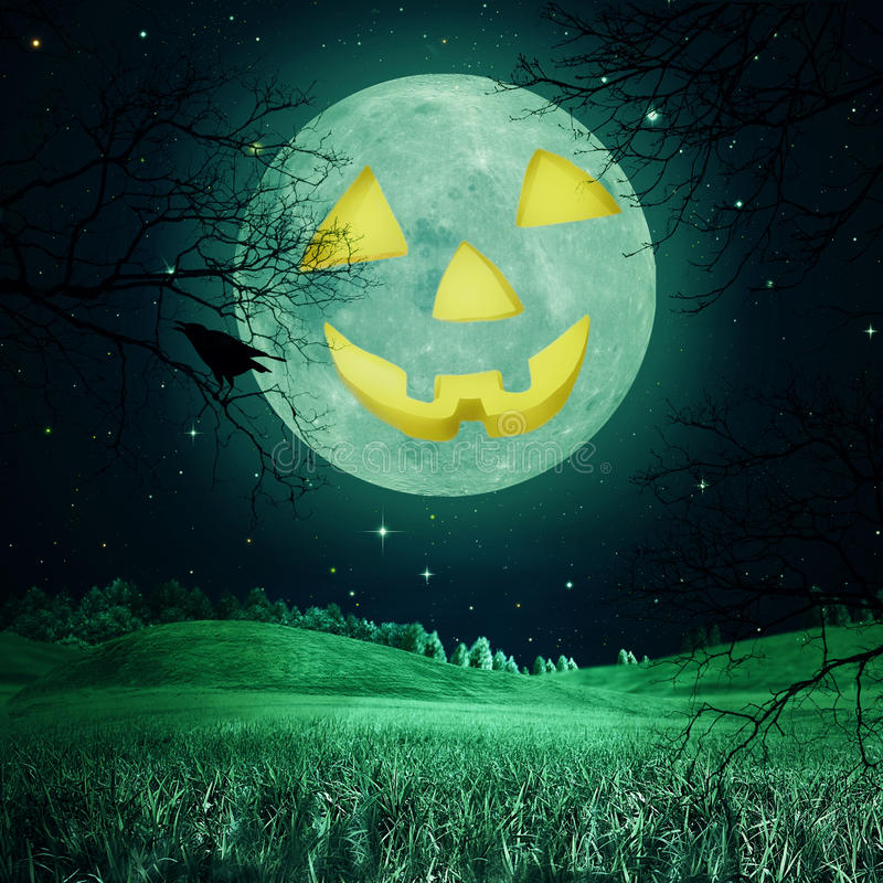 Free Abstract Halloween Backgrounds Royalty Free Stock Image - 33693346