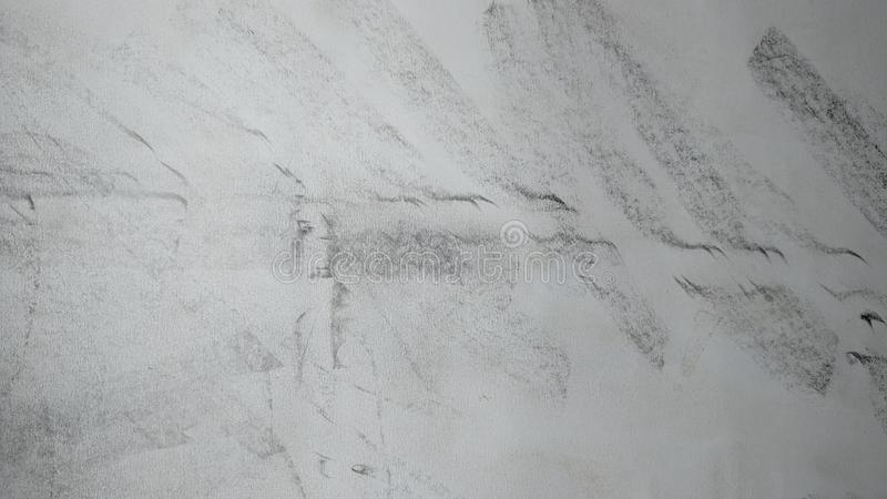 Abstract hand drawn pencils on gray background royalty free stock images